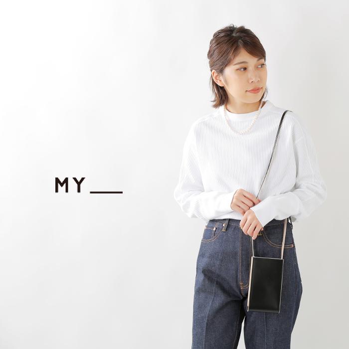 MY(マイ)レザーショルダーミニバッグ