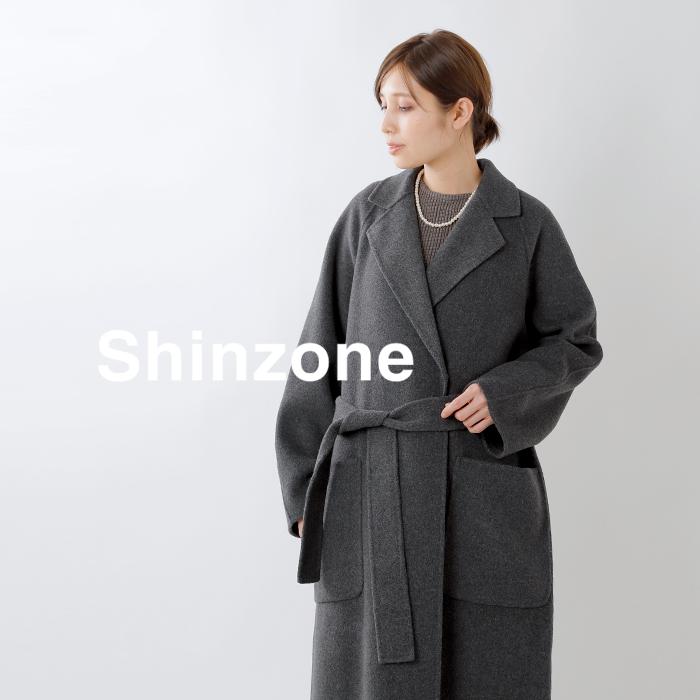Shinzone(シンゾーン)ウールダブルラップコート 19amsco55