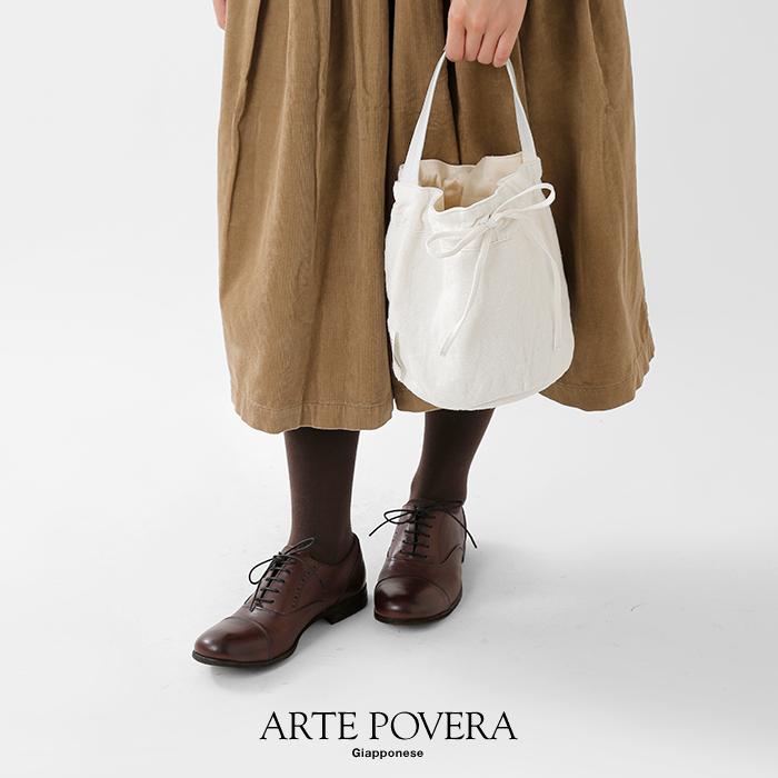 ARTEPOVERA(アルテポーヴェラ)イタリアリネン&レザーワンショルダーバッグM2019winter43