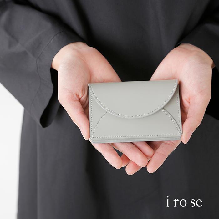 "irose(イロセ)カウレザーミニウォレット""FOLD MINI WALLET"" acc-f02"