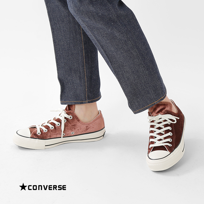CONVERSE(コンバース)オールスター100ベルベットOXスニーカーallstar-100velvet-ox