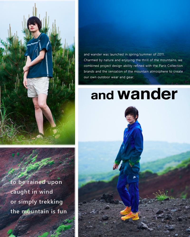 andwander(アンドワンダー)キューベンファイバースタッフサックaw-aa986