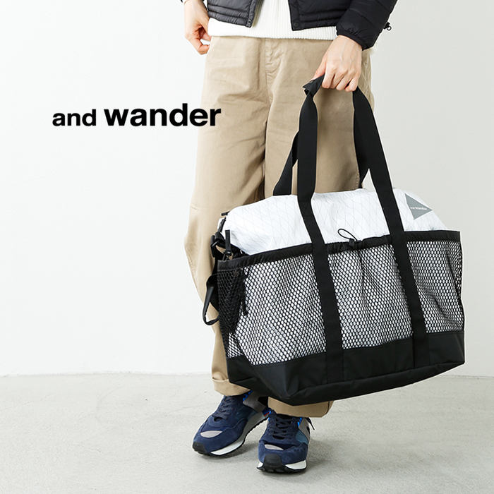 and wander(アンドワンダー)X-Pac 45Lトートバッグ aw-aa624