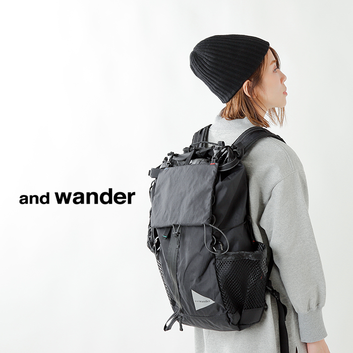 and wander(アンドワンダー)X-Pac 30Lバックパック aw-aa651
