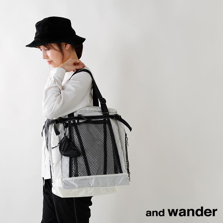 "andwander(アンドワンダー)コーデュラナイロン防水トートバック25L""25Ltotebag""aw-aa730"