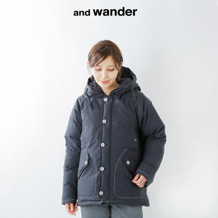 and wander(アンドワンダー)タフダウンジャケット aw93-ft610