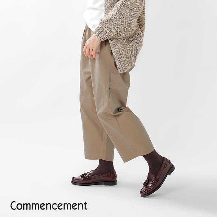 Commencement(コメンスメント)T/Cワイドパンツc-053