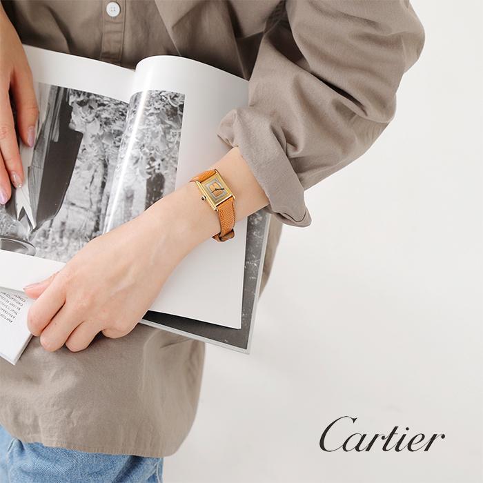 """Cartier(カルティエ)ヴィンテージレディースウォッチ""""マストタンク""""cartier-67"""