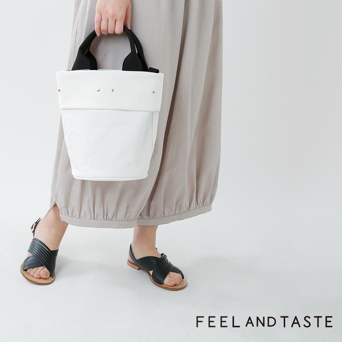 """FEEL AND TASTE(フィールアンドテイスト)2wayコットン帆布トートバッグ""""POT tall"""" f071c401"""