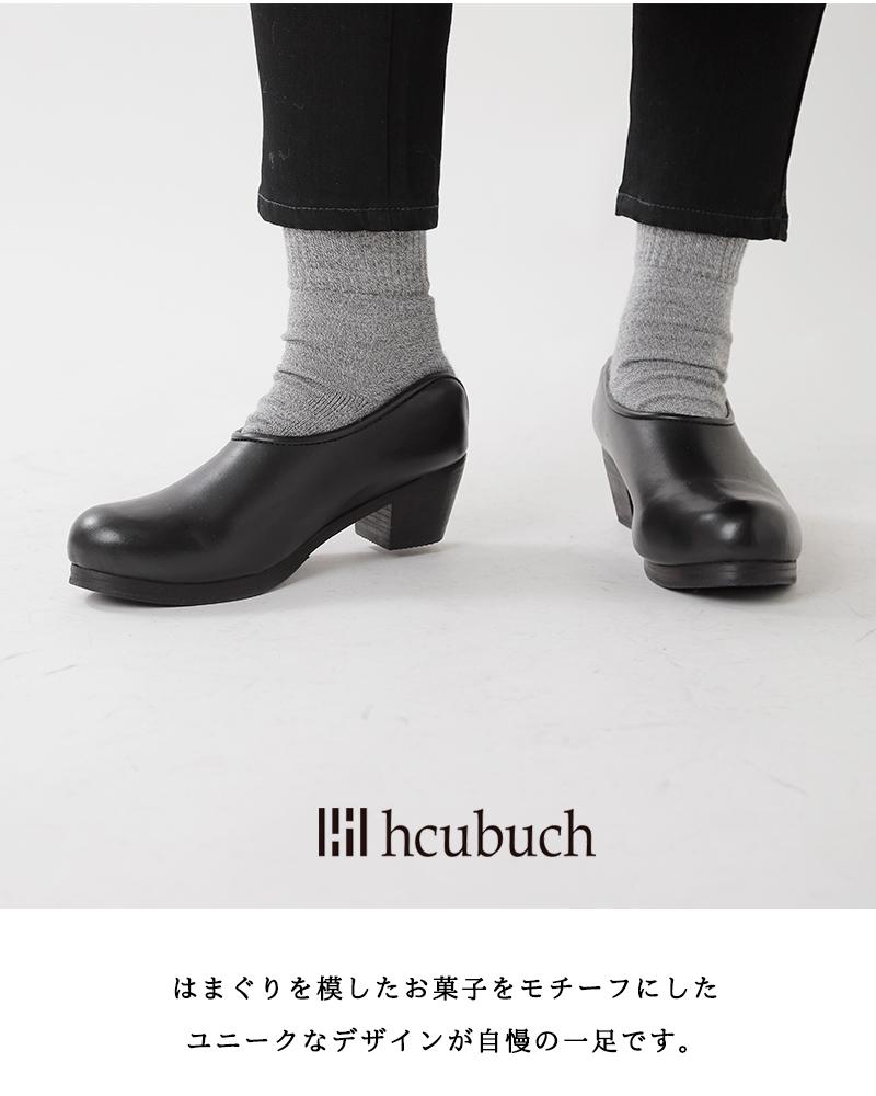"""hcubuch(フーブ)カウレザーサボ""""はまぐりがた"""""""