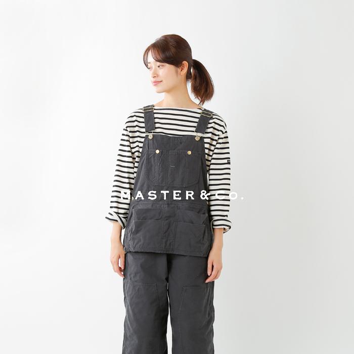 MASTER&Co.(マスターアンドコー)コットンチノオーバーオール mc668