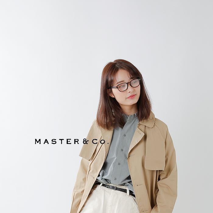 MASTER&Co.(マスターアンドコー)コットンリネンスタンドカラ—シャツ mc938