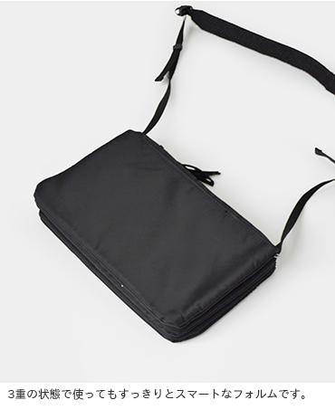 "kha:ki(カーキ)ショルダーバック""TRIPLE SHOULDER BAG""mil-19sbg34"