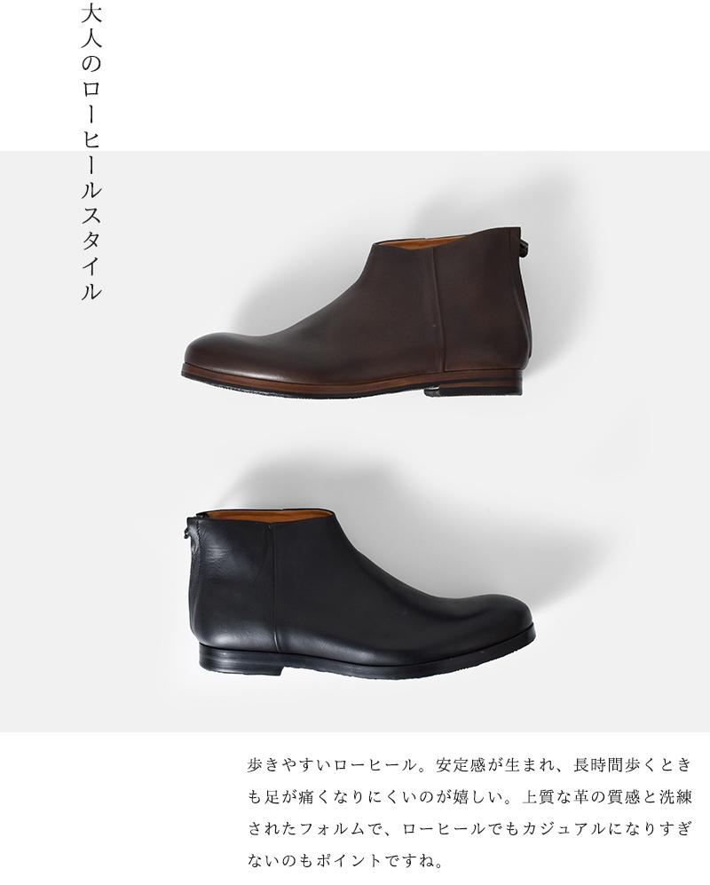 MUKAVA(ムカバ・ムカヴァ)レザーショートブーツmu-994