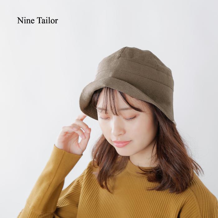 """Nine Tailor(ナインテイラー)リネンウールセーラーハット""""Castana Hat"""" n-369"""
