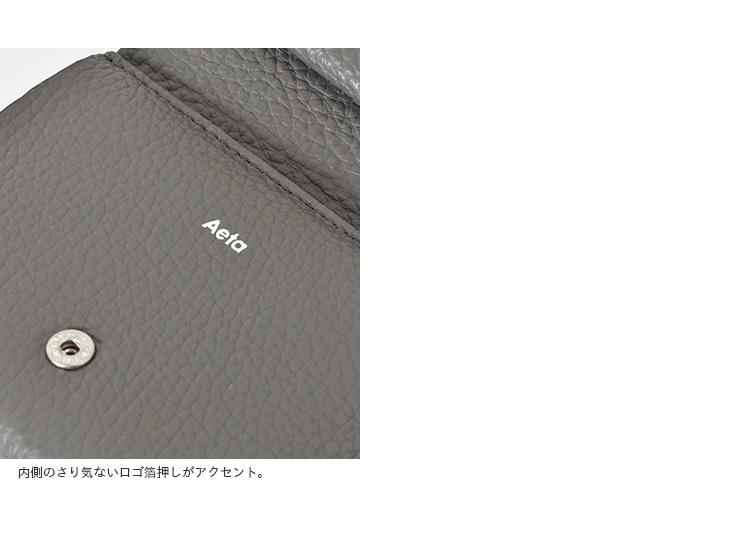 "Aeta(アエタ)カウレザー三つ折りウォレッ  ト""WALLETtypeA""pg15"