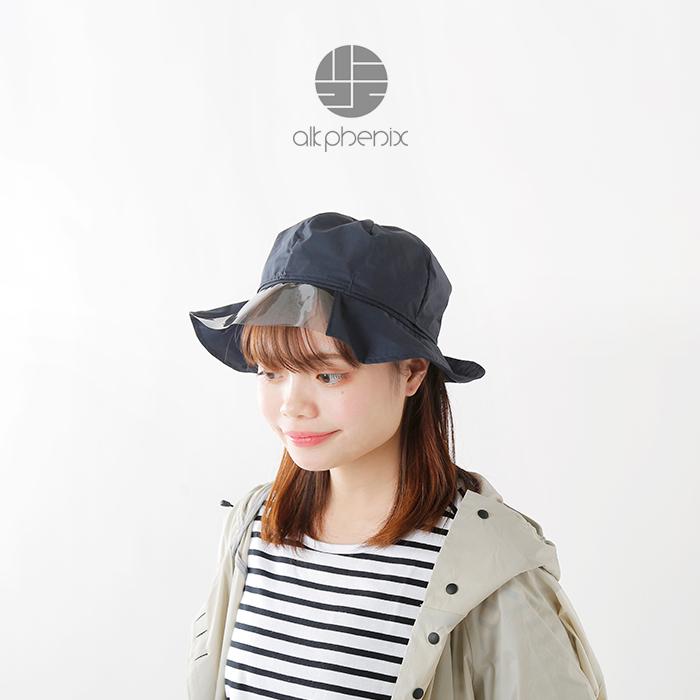 "alk phenix(アルクフェニックス)スモークPUシート付レインハット""umbrella hat"" po918hw22"