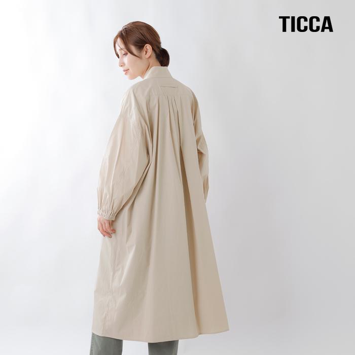 TICCA(ティッカ)コットンナイロンコートシャツ taia-003