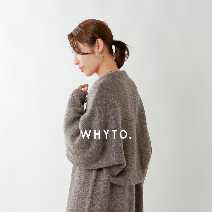 whyto(ホワイト)モヘアウール2wayニットボレロ wht19fac1
