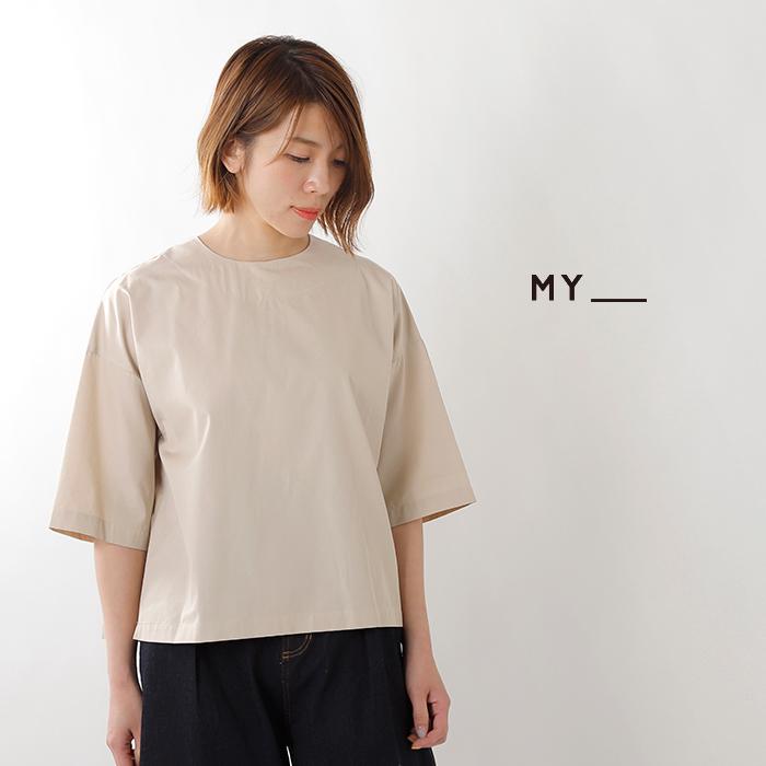 MY(マイ)コットンT/Mスモックシャツ 191-61306