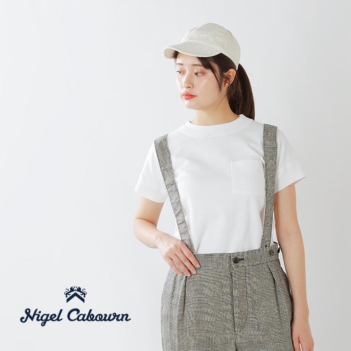 NIGELCABOURN(ナイジェルケーボン)40sワーククルーネックショートスリーブシャツ8038-08-21000