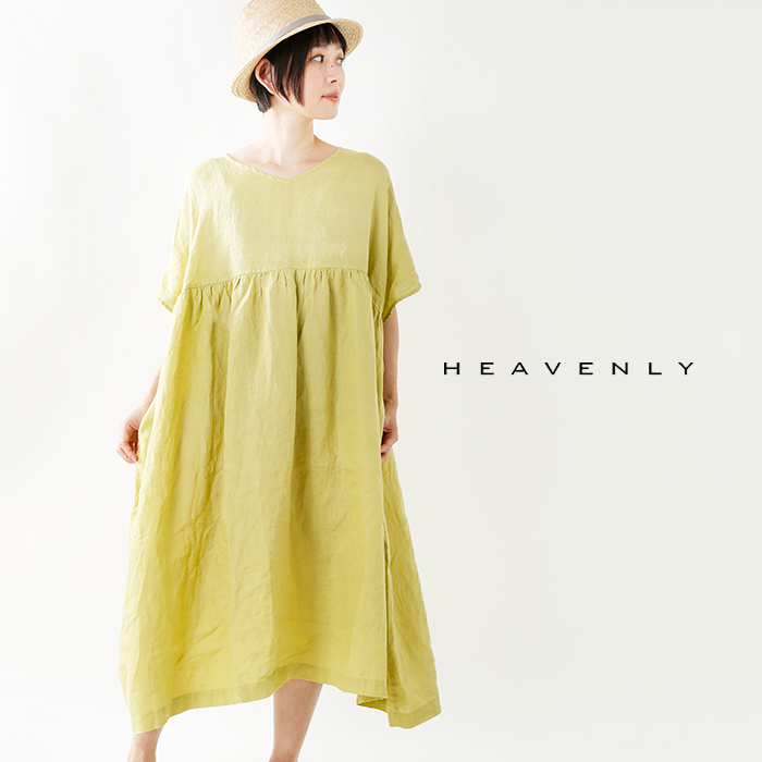 heavenly(ヘブンリー)リネンギャザープルオーバーワンピース835201