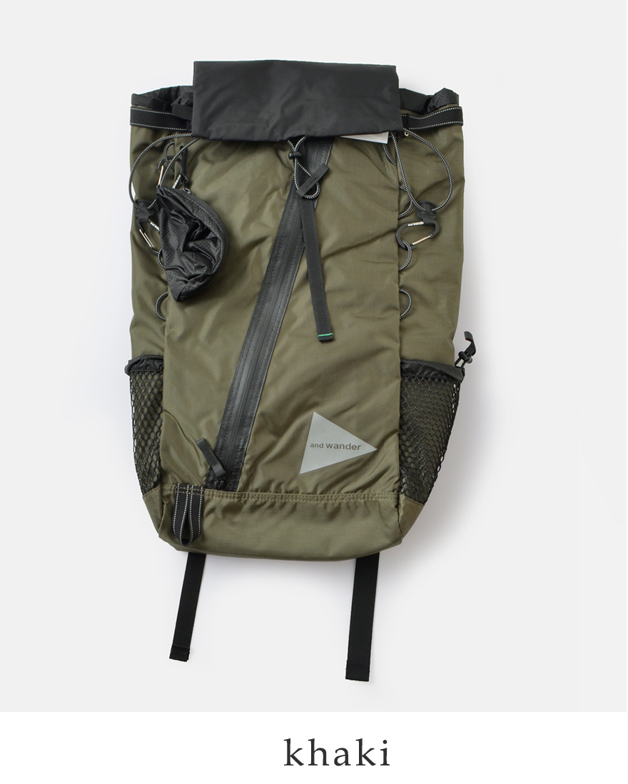 """6dfb3983897d ... and wander(アンドワンダー)コーデュラナイロン防水バックパック30L """"30L backpack"""" ..."""