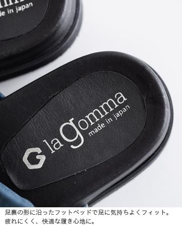 la gomma(ラゴンマ)aranciato別注 フラットトングサンダル lgw-1