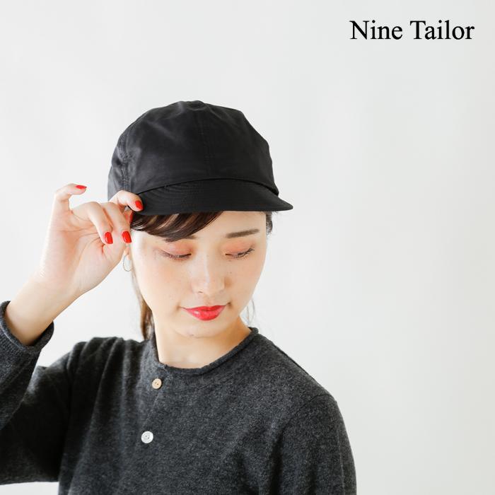 "NineTailor(ナインテイラー)ワークキャップ""Lymingtoncap""n-196"