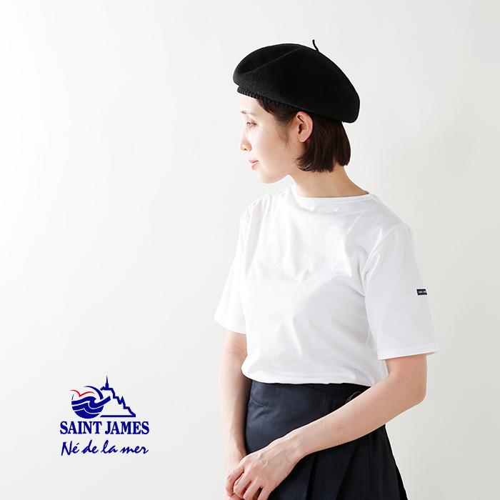 SAINT JAMES(セントジェームス)コットンボートネックTシャツ piriac