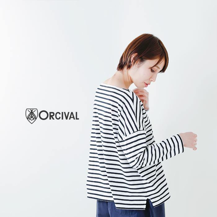ORCIVAL(オーチバル・オーシバル)ボーダーワイドプルオーバー rc-9086-19s