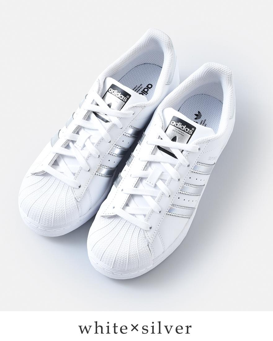 "adidas Originals(アディダス オリジナルス)メタリックランニングスニーカー""SUPERSTAR"" superstar-12000"