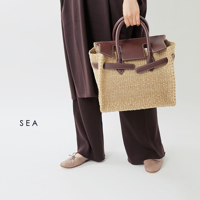 SEA(シー)アバカかごバッグM110520224