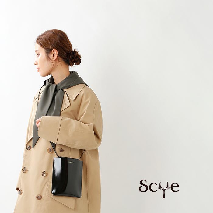 Scye(サイ)パテントカウレザーポシェットM 3320-33318