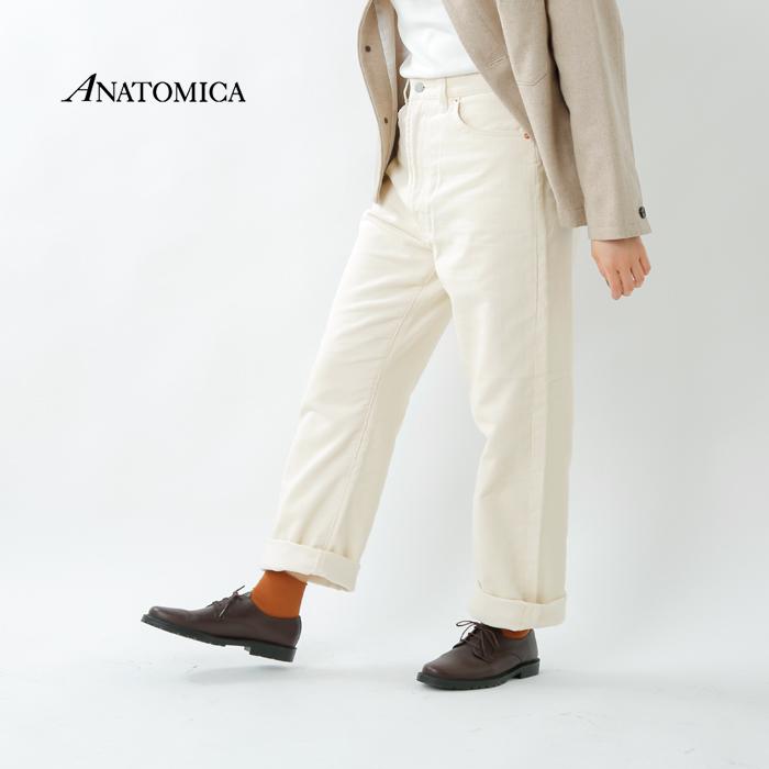 """ANATOMICA(アナトミカ)コットンコーデュロイハイウエストパンツ""""618 MARILYN CORDS"""" 531-542-08"""