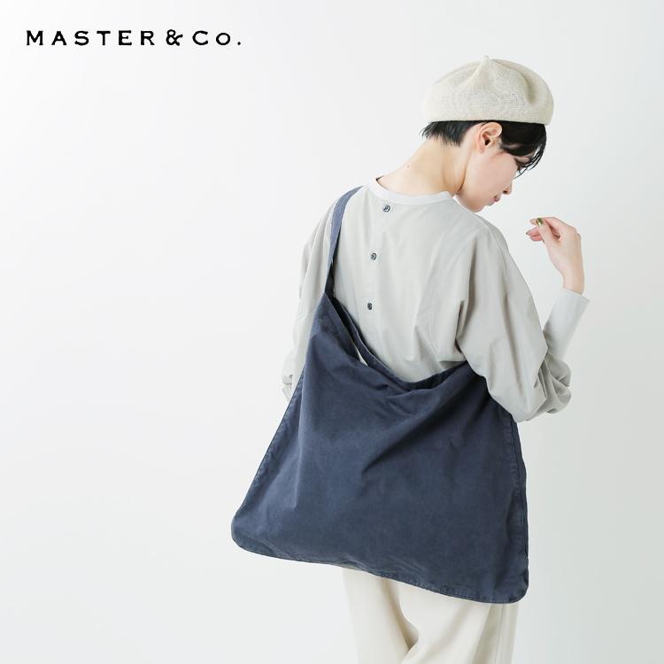MASTER&Co.(マスターアンドコー)コットンショルダーバッグ mc392