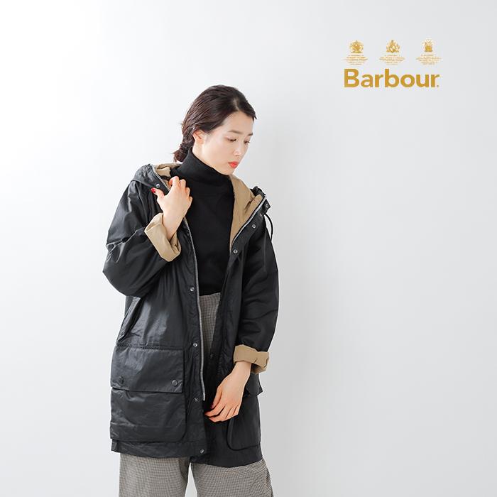 "Barbour(バブアー)ハイキングワックスフードジャケット""HIKING WAX"" mwx1673"