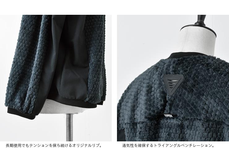 "alk phenix(アルクフェニックス)POLARTEC HI LOFT×Primeflexオービットセーター""orbit sweater"" poa52kt72"