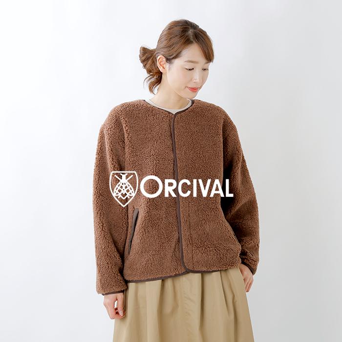 ORCIVAL(オーチバル・オーシバル)ウールボアカーディガン rc-8082wba