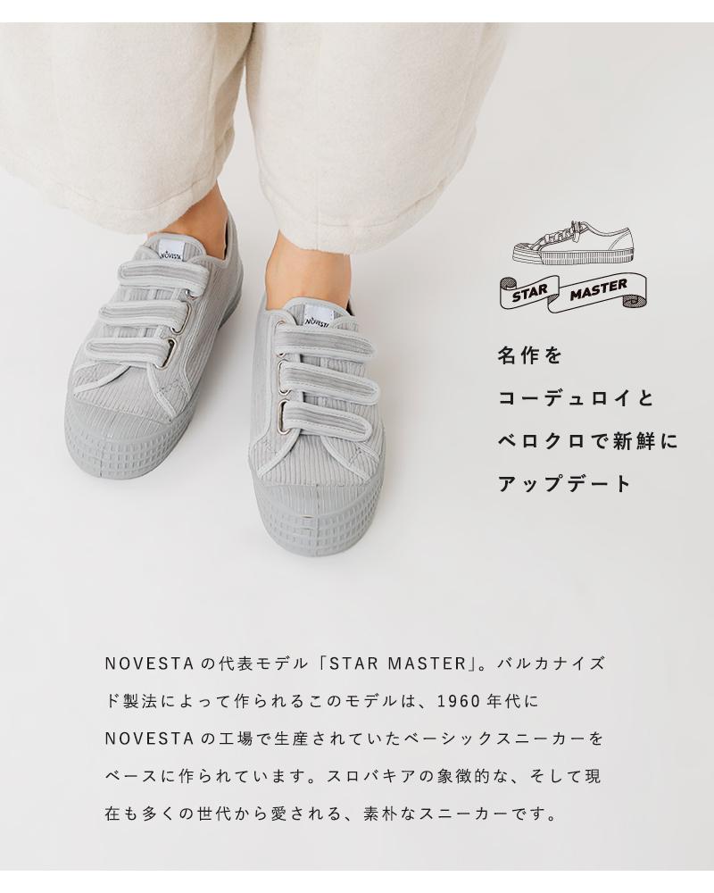 """NOVESTA(ノヴェスタ)ベルクロコーデュロイスニーカー""""STAR MASTER VERCLO CORDUROY"""" s-m-vlcr"""