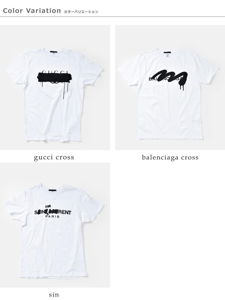Simeon Farrar BLACK SCORE(シメオンファラー ブラックスコア)グラフィックコットンTシャツ 10301033-26-41