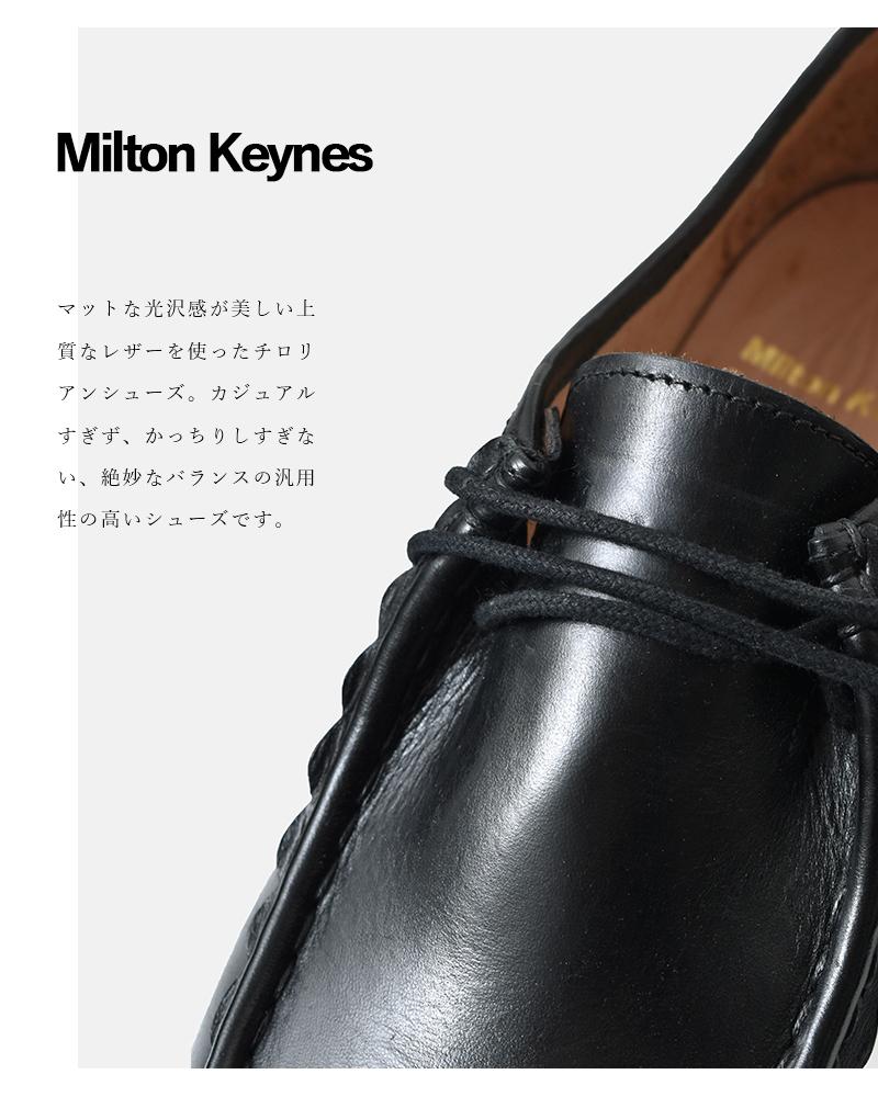 Milton Keynes(ミルトンキーンズ)レザーチロリアンシューズ 11280-kettu