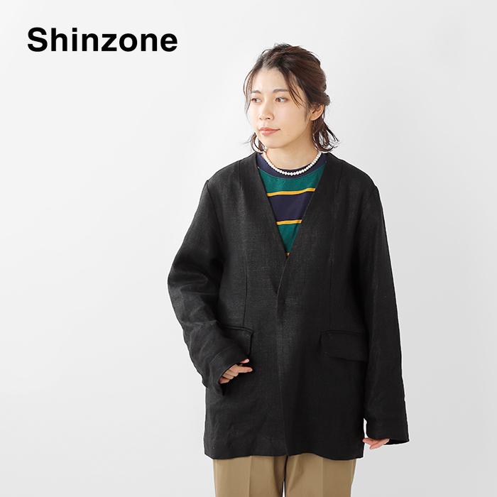 Shinzone(シンゾーン)リネンノーカラージャケット20smsjk52
