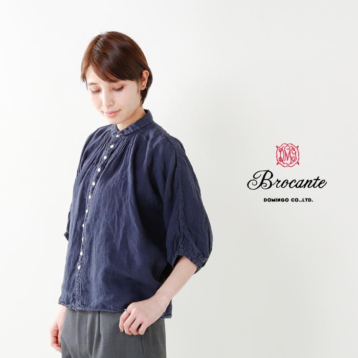 DMG Brocante(ディーエムジー ブロカント)リネングランシャツ 38-042l