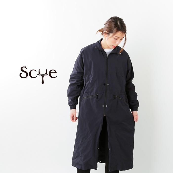 SCYE BASICS(サイベーシックス)ナイロンポリエステルガーメントダイアジャスタブルレングスコート 5220-71529