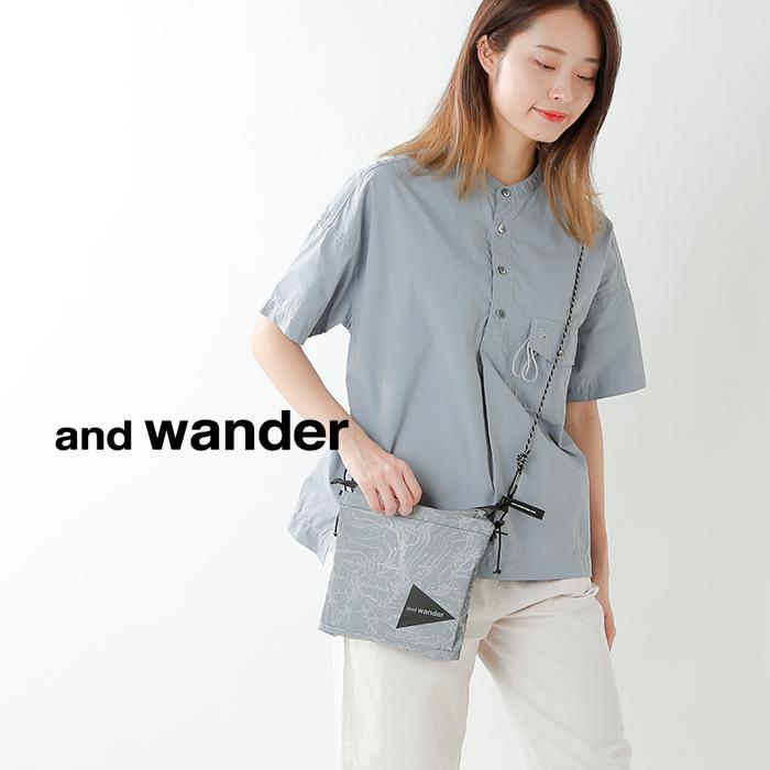 and wander(アンドワンダー)コーデュラタイプライタープルオーバー 574-0983004