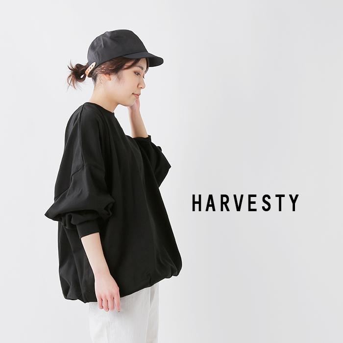 HARVESTY(ハーベスティ)30/2度詰天竺コットンファットスリーブプルオーバー a52001