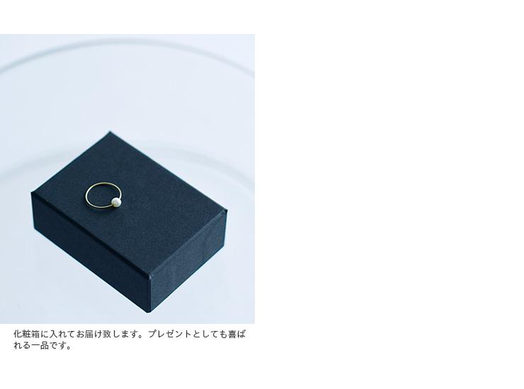 Carla Caruso(カーラ・カルーソ)14kt Gold Bead Ring beadring