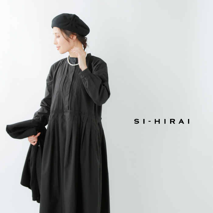 SI-HIRAI(スーヒライ)aranciato別注 コットンTAC&TACドレス chaw18-3805