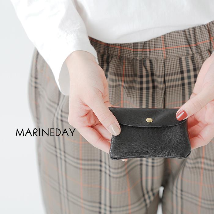 MARINE DAY(マリンデイ)ゴートスキンミニウォレット